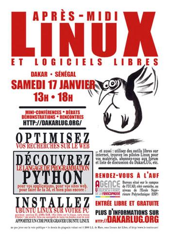 Linux & Logiciels Libres à Dakar